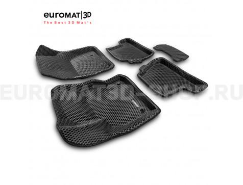 3D коврики Euromat3D EVA в салон для Ford Focus 3 (2011-) № EM3DEVA-002207